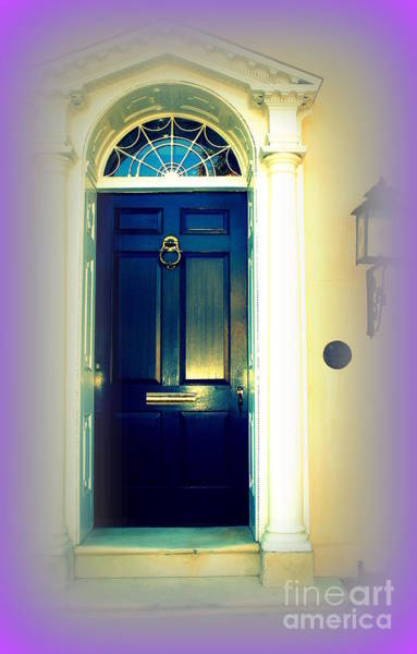 Photograph - Charleston Door 6 by Susanne Van Hulst
