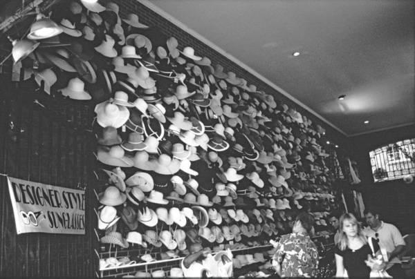Photograph - Charleston Hat Store by Emery Graham