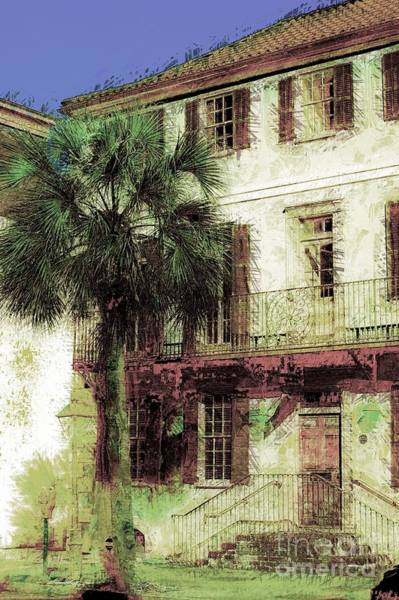 Photograph - Charleston Homes by Donna Bentley
