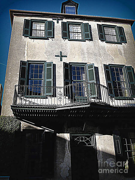 Photograph - Charleston Houses by Susanne Van Hulst
