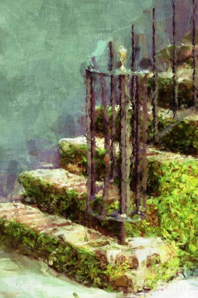 Photograph - Charleston's Steps by Donna Bentley