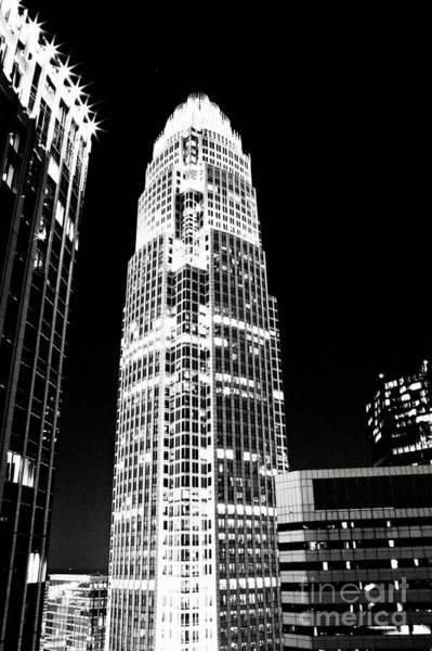 Charlotte Nc Wall Art - Photograph - Charlotte North Carolina Bank Of America Building by Kim Fearheiley