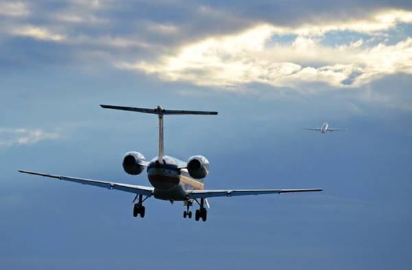 Wall Art - Photograph - Chasing Jet Fumes by Fraida Gutovich