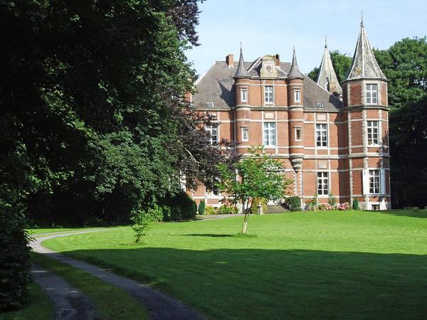 Chateau De Miremont Belgium Art Print