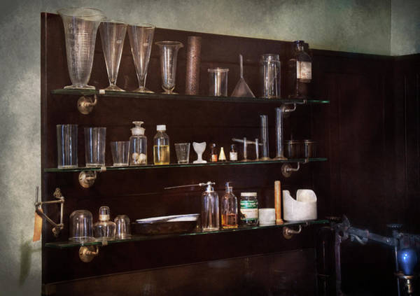 Photograph - Chemist - The Scientist  by Mike Savad