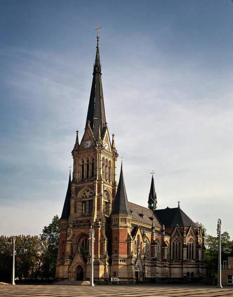 Photograph - Chemnitz Church by Endre Balogh