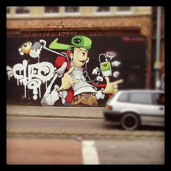 Comics Wall Art - Photograph - #cheo#cheograff#bristol by Nigel Brown