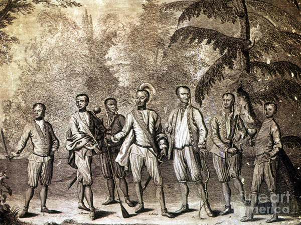 Delegation Photograph - Cherokee Delegation, 1730 by Granger