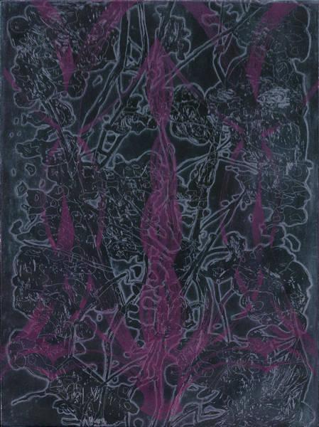 Dark Pink Drawing - Cherry Blossom by Brigitte Caramanna
