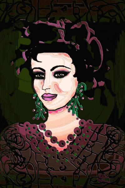 Jade Mixed Media - Cherry Blossom by Natalie Holland
