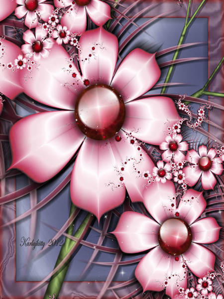 Digital Art - Cherry Candy by Karla White