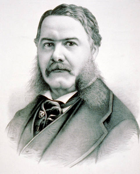 Wall Art - Photograph - Chester Arthur - President Of The United States Of America by International  Images