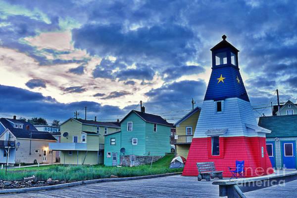 Cabot Trail Photograph - Cheticamp In Cape Breton Nova Scotia by Joe  Ng