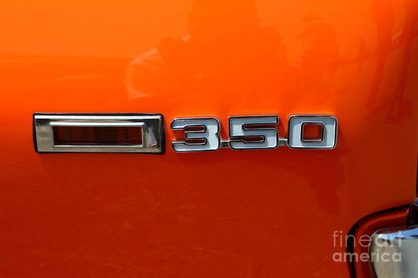 Photograph - Chevrolet Chevy Camaro Rs 350 Emblem 7d15518 by Wingsdomain Art and Photography