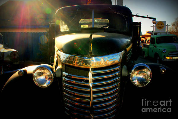 Photograph - Chevrolet On Route 66 by Susanne Van Hulst