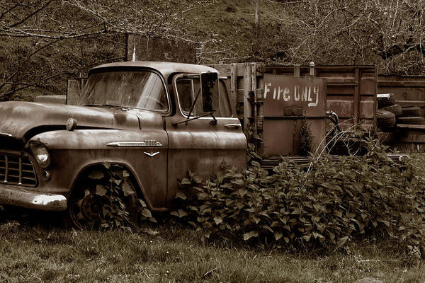 Photograph - Chevrolet Was Fire Only by Lorraine Devon Wilke