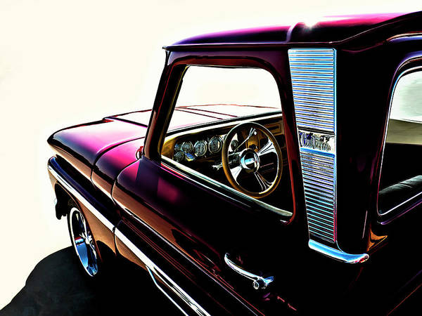 Chevrolet Digital Art - Chevy Pickup by Douglas Pittman