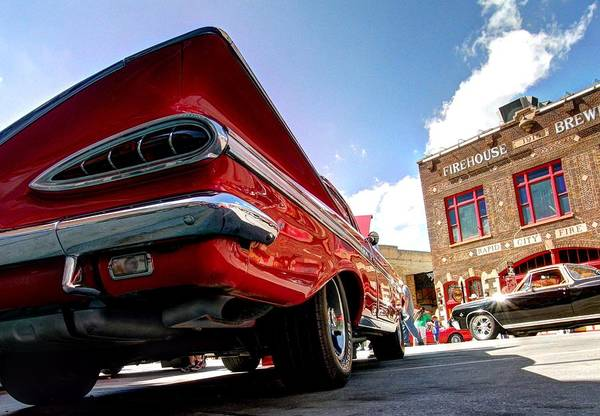 Photograph - Chevy Town by HW Kateley