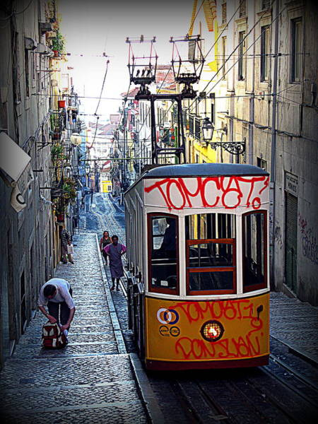 Carris Photograph - Chiado Tram By Carris by Photo Proyectolabs