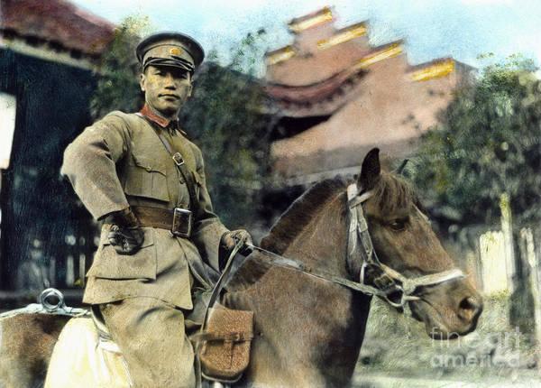 Photograph - Chiang Kai-shek (1887-1975) by Granger