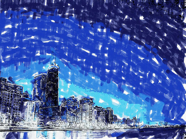 Painting - Chicago by Dean Wittle