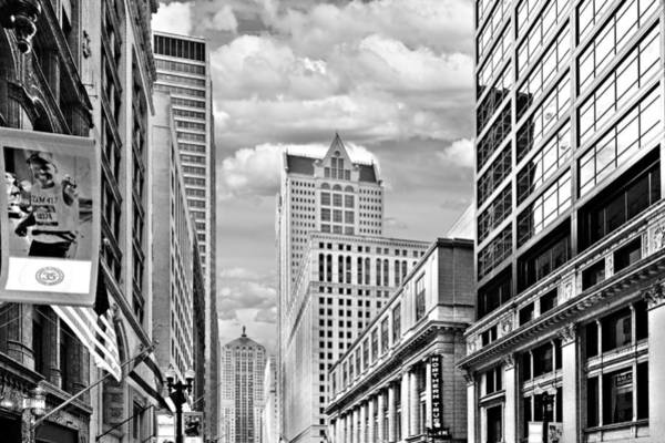 Wall Art - Photograph - Chicago Lasalle Street by Christine Till