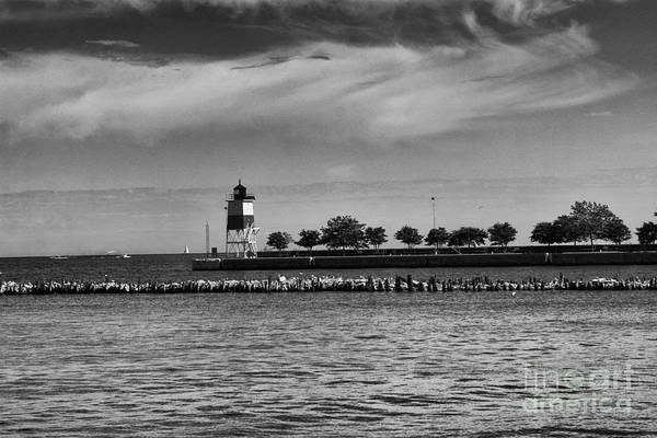 Photograph - Chicago Lighthouse by Leslie Leda