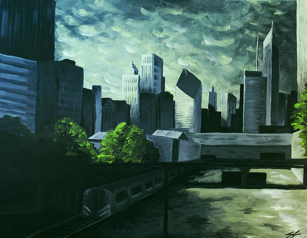 Coolidge Painting - Chicago by Sara Coolidge