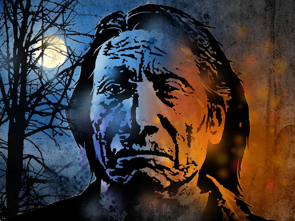 Wall Art - Painting - Chief Red Cloud by Paul Sachtleben
