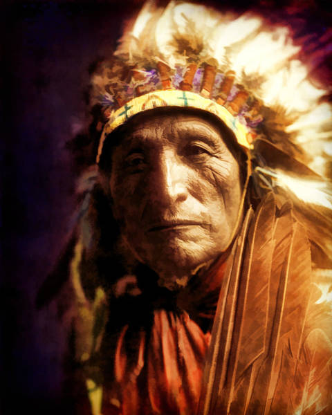 Photograph - Chief by Rick Wicker