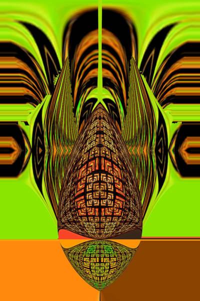 Digital Art - Chief by Theodore Jones