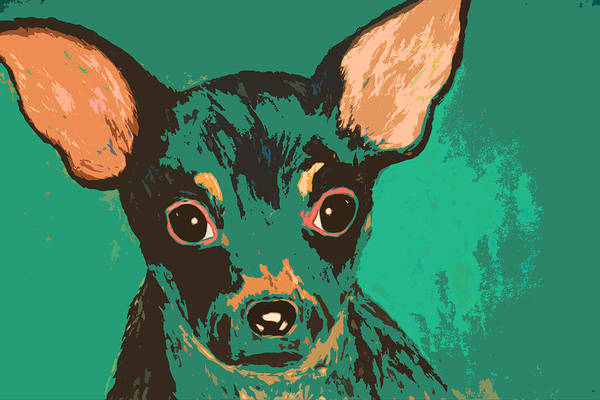 Painting - Chihuahua by Melinda Etzold