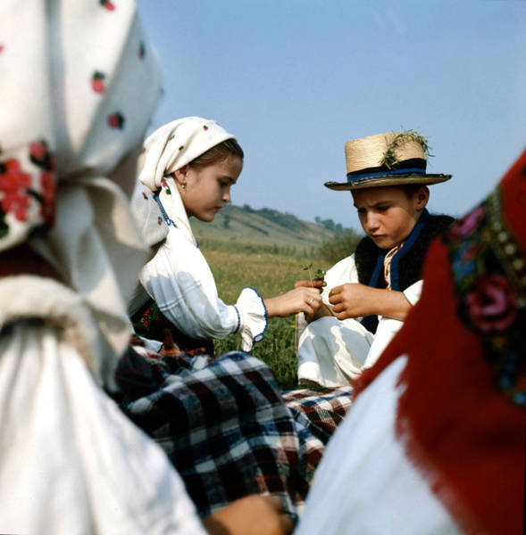 Photograph - Children In Sapanta Romania by Emanuel Tanjala