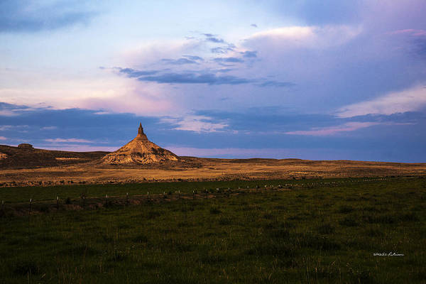 Photograph - Chimney Rock Approach by Edward Peterson