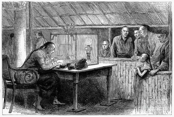 China: Opium, 1882 Art Print