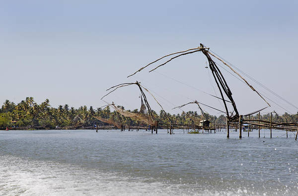 Bankside Photograph - Chinese Fishing Net Perspective by Kantilal Patel