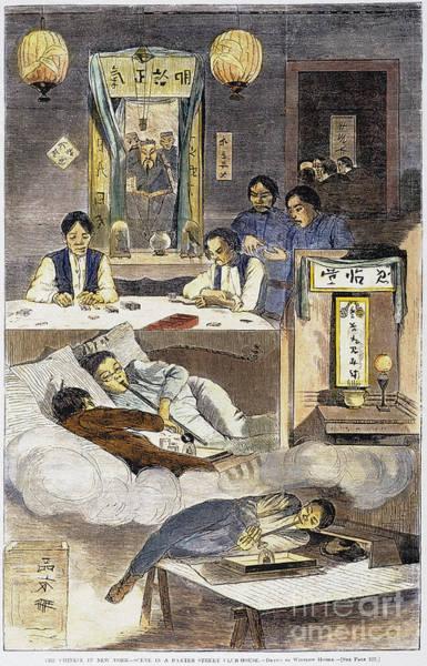 Chinese Immigrants, 1874 Art Print