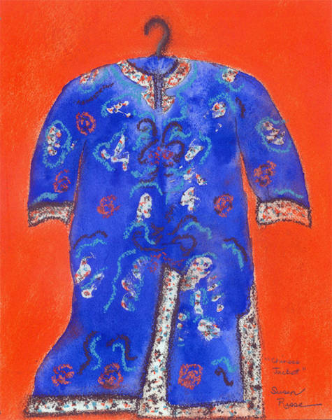 Chinese Jacket Art Print by Susan Risse