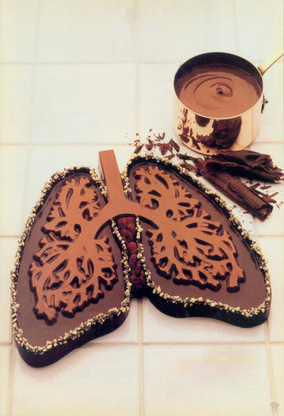 Lung Digital Art - Chocolate by Richard McGee