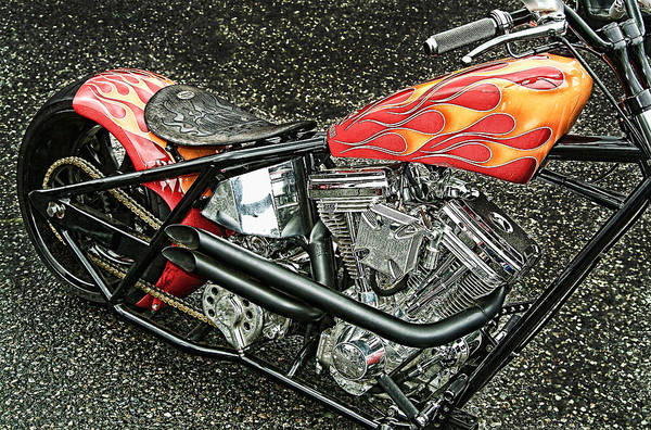 Pyrography - Chopper by Mauro Celotti