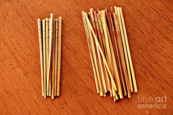 Wall Art - Photograph - Chopsticks by Dean Harte