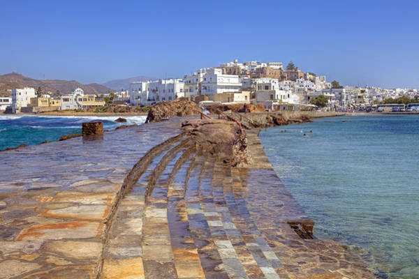 Aegean Sea Photograph - Chora Naxos by Joana Kruse