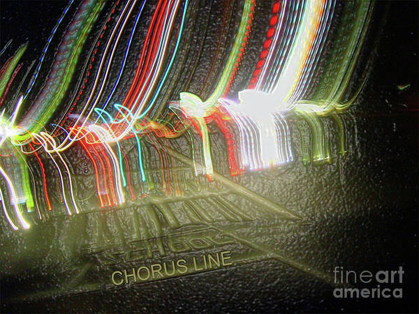 Photograph - Chorus Line by Photographs In Motion