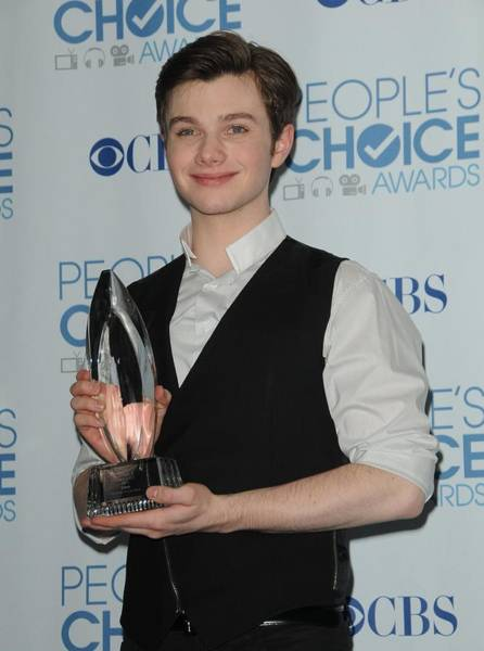Nokia Photograph - Chris Colfer In The Press Room by Everett