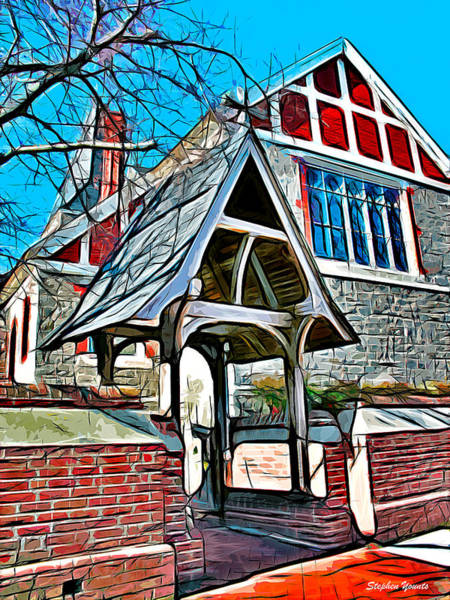 Wall Art - Digital Art - Christ Church Of St Michaels by Stephen Younts