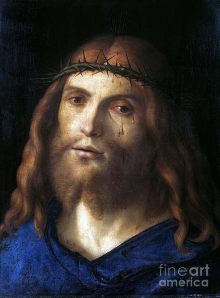 Wall Art - Photograph - Christ Crowned With Thorns by Granger