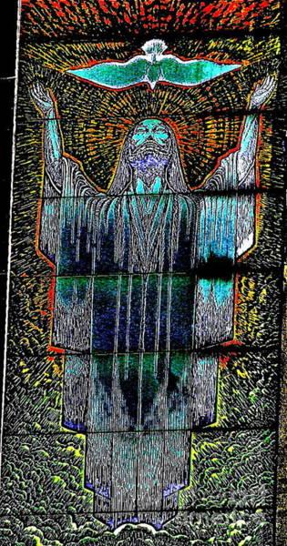 Easter Sunday Digital Art - Christ Glory by Virgin Dyke
