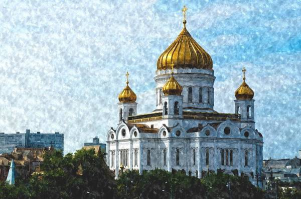 Photograph - Christ The Savior Cathedral by Michael Goyberg