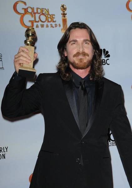 Wall Art - Photograph - Christian Bale In The Press Room by Everett