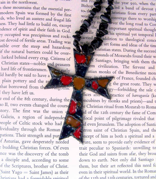 Jewelry - Christian  Cross by Cynthia Amaral